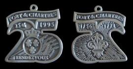 1995 Fort de Chartes Rendevous Medallions